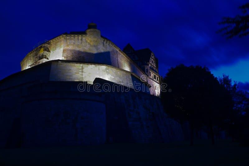 城堡Veste   库存照片
