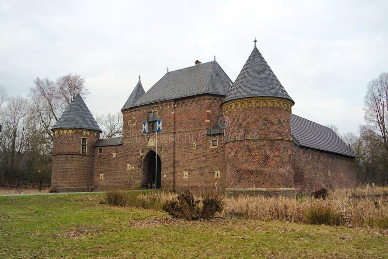 城堡Vondern -奥伯豪森-德国 库存照片
