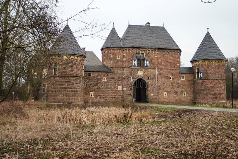 城堡Vondern -奥伯豪森-德国 免版税库存图片