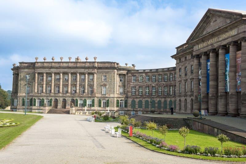 城堡Wilhelmshoehe,卡塞尔,德国 库存图片