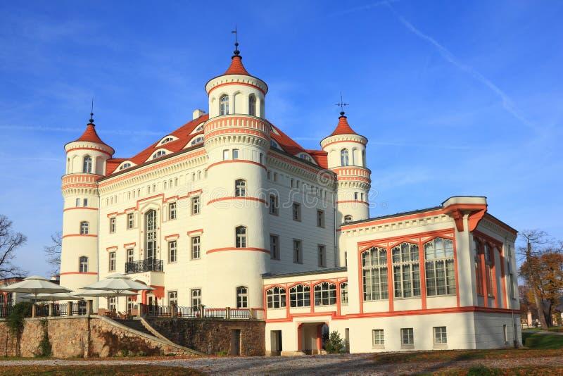城堡Wojanow 免版税图库摄影
