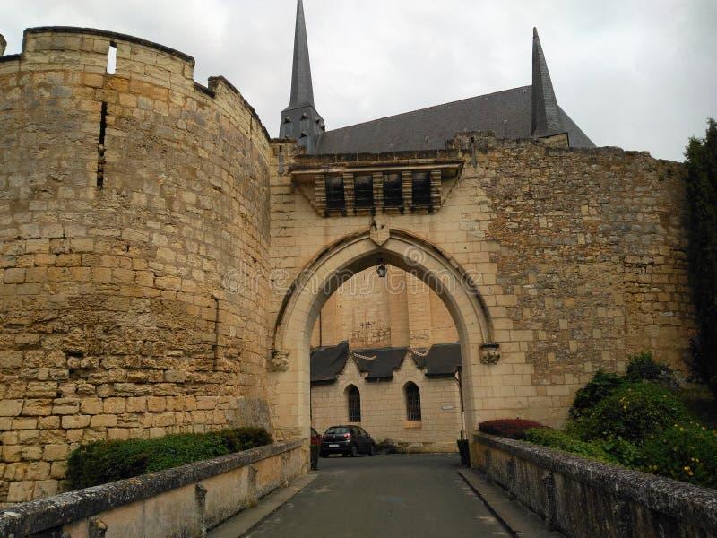 城堡XI世纪 库存照片