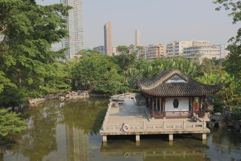 城寨公园在香港,中国 免版税库存图片