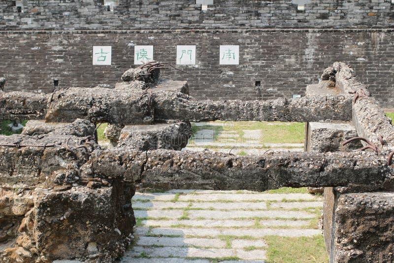 城寨公园 库存图片