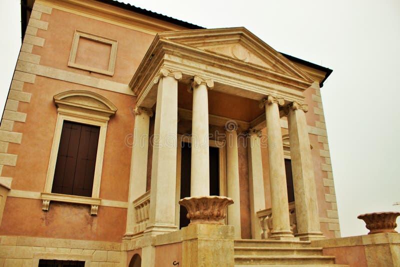 城市bassano del grappa  库存图片