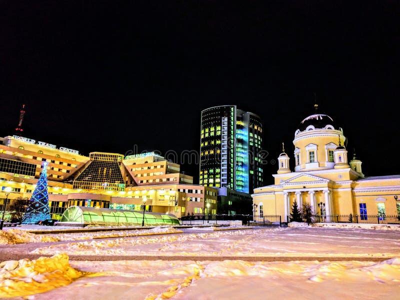 城市†‹â€ ‹中心 免版税库存图片