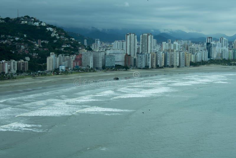 城市†‹圣地维森特†‹等候热带风暴 免版税库存图片