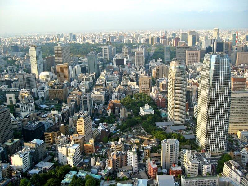 城市东京视图 免版税库存图片