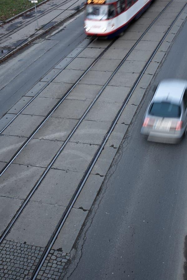 城市交通概念 库存照片