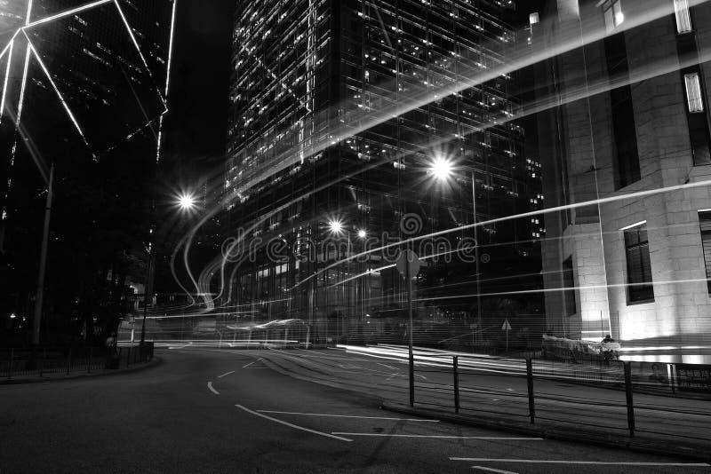 城市从未睡觉 库存照片