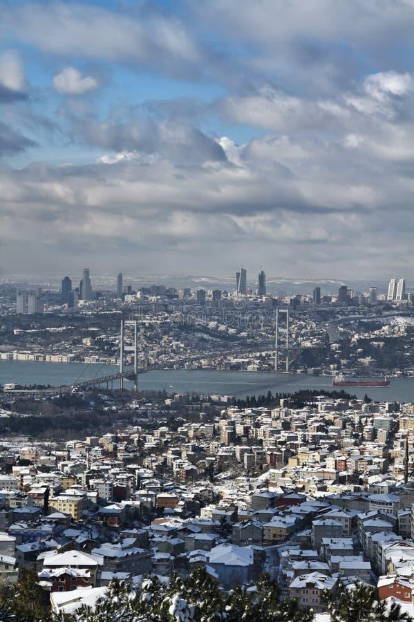 城市伊斯坦布尔火鸡查阅 免版税库存图片