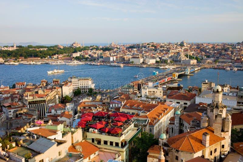 城市伊斯坦布尔 免版税库存图片