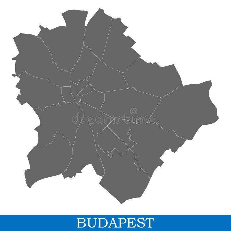 城市优质地图  库存例证