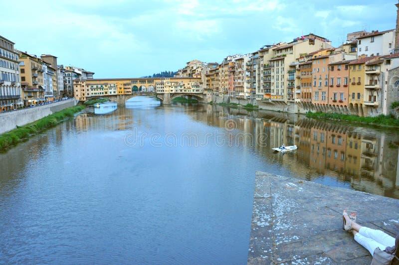 城市佛罗伦萨意大利旅游业 库存照片