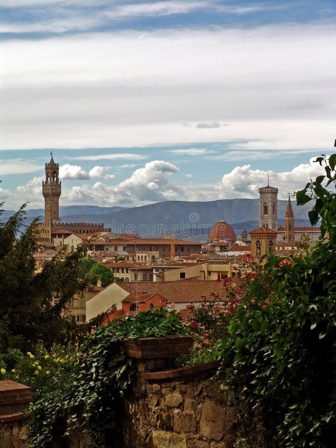 城市佛罗伦萨意大利视图 库存图片