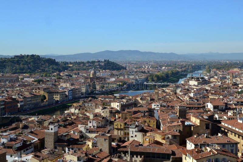 城市佛罗伦萨 免版税库存图片