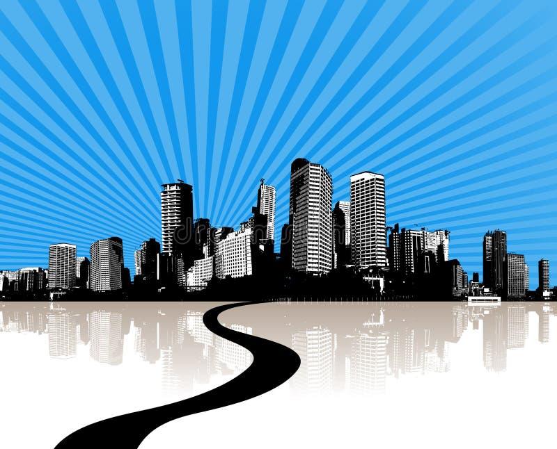 城市例证向量 向量例证