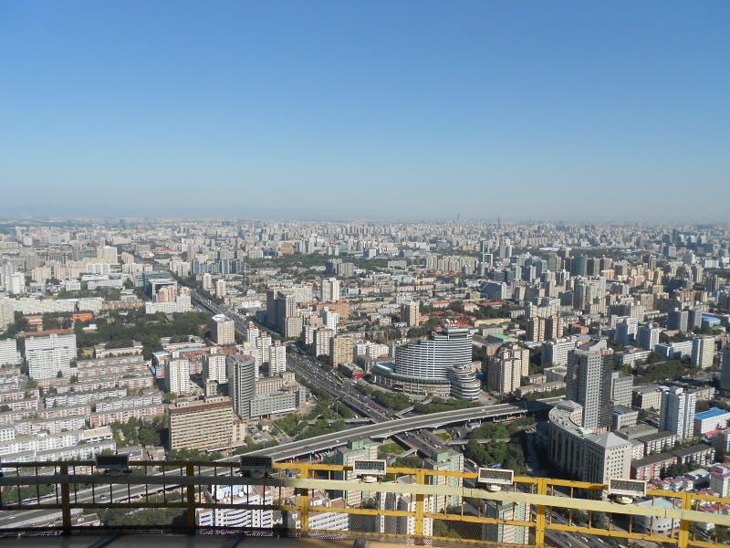 城市俯视 库存图片