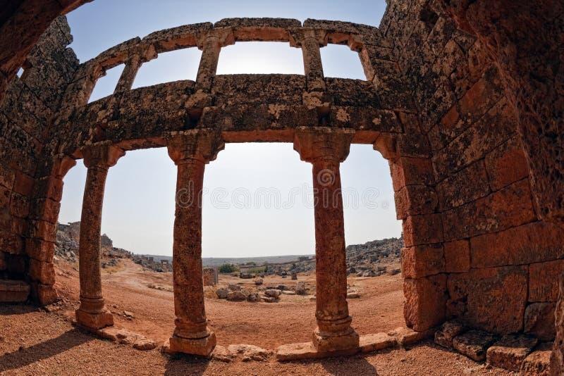 城市停止的叙利亚 库存图片