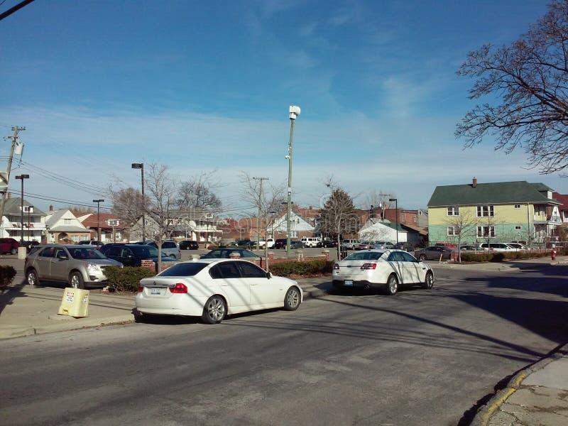 城市停车处 免版税图库摄影
