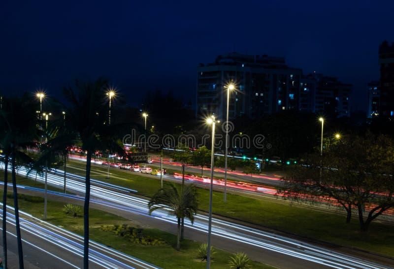 城市光 免版税库存照片
