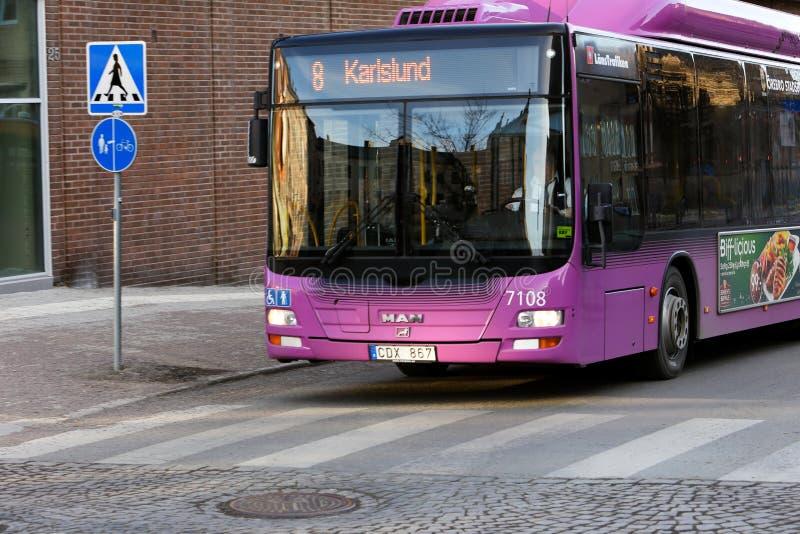 城市公共汽车 库存图片