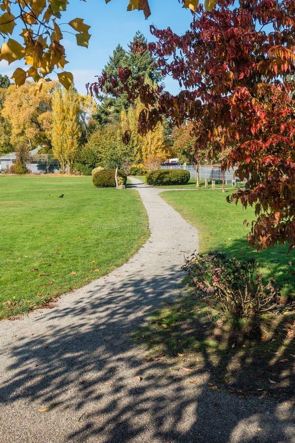 城市公园在秋天6 库存图片