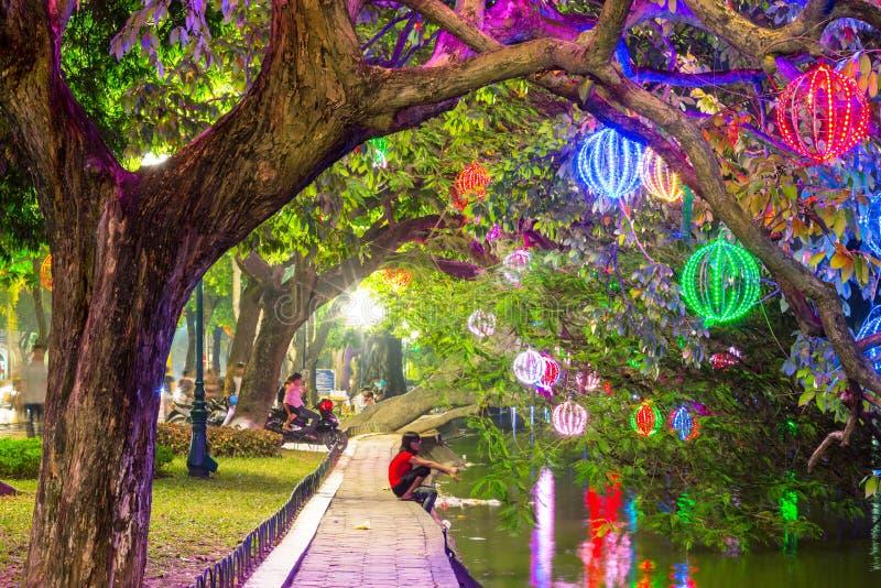 城市公园方式 河内 库存图片