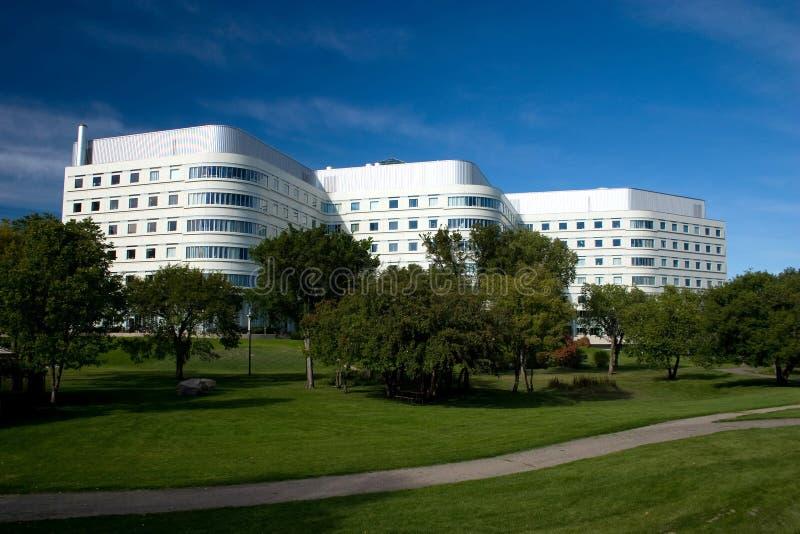 城市医院萨斯卡通 库存图片