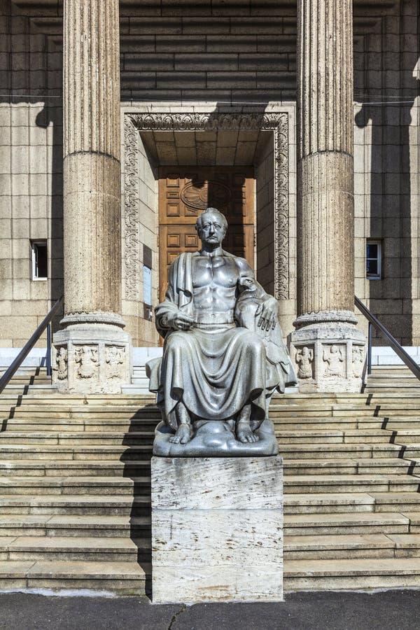 城市博物馆在威斯巴登 免版税库存照片