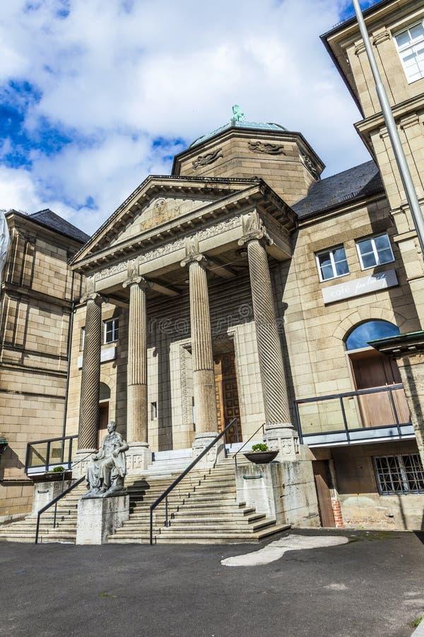 城市博物馆在威斯巴登 免版税库存图片