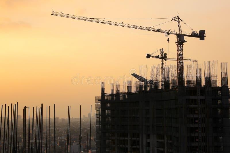 城市发展makati都市的马尼拉 库存图片