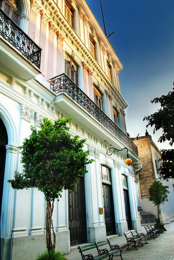 城市哈瓦那静街 免版税库存照片