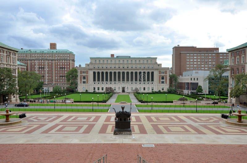 城市哥伦比亚新的大学约克 免版税库存照片