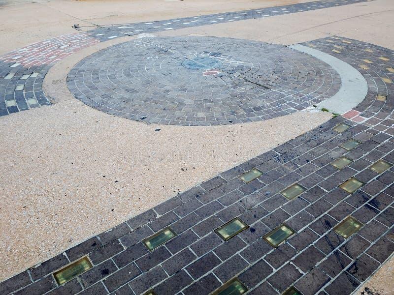 城市土尔沙俄克拉何马宇宙街市的中心  免版税图库摄影