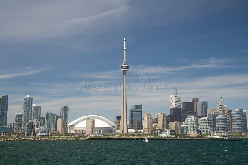 城市地平线多伦多 免版税库存照片