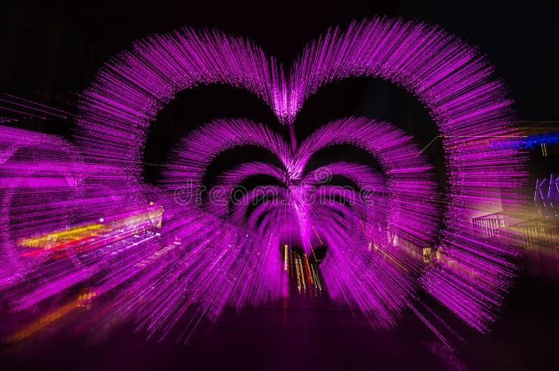 城市基辅晚上ukrain视图 库存图片