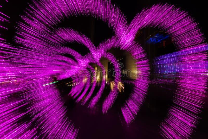 城市基辅晚上ukrain视图 免版税库存图片