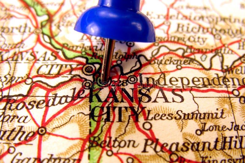 城市堪萨斯密苏里 免版税库存照片
