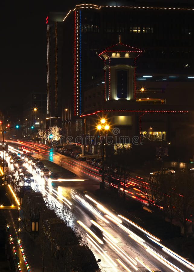 城市堪萨斯广场 库存图片