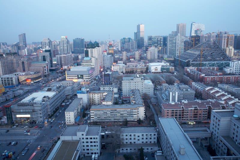 城市夜间 免版税库存图片