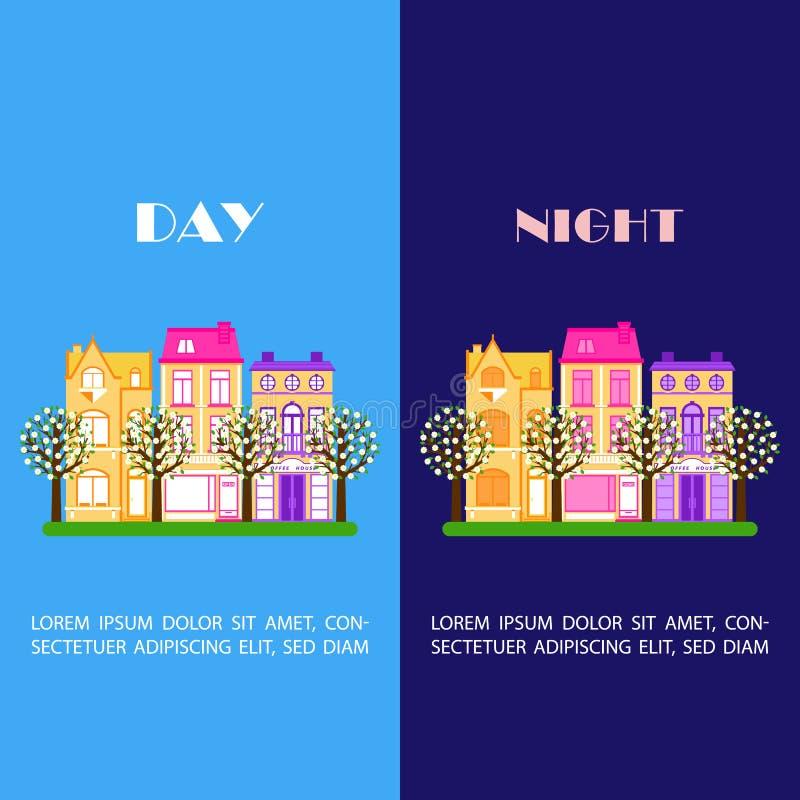 城市天夜2 库存例证