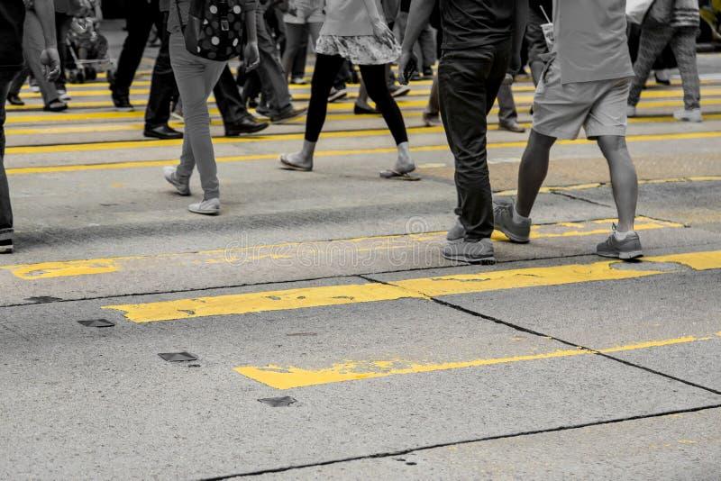 城市居民 免版税库存照片