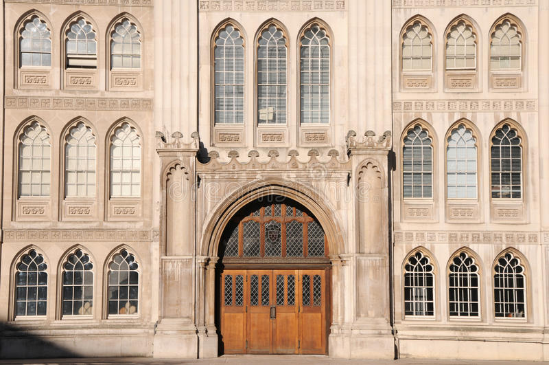 城市市政厅伦敦 库存图片