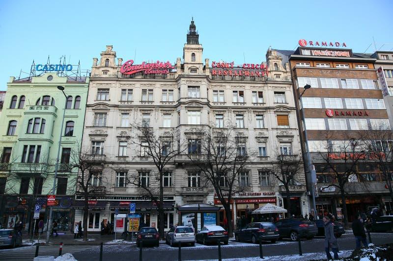 城市布拉格 免版税库存图片