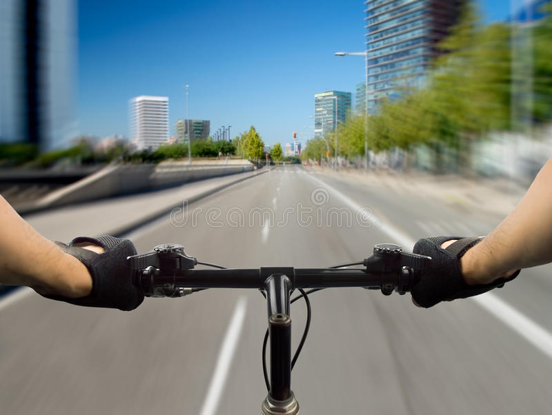 城市循环 库存照片