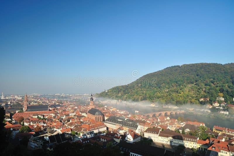 城市德国海得尔堡 免版税库存照片