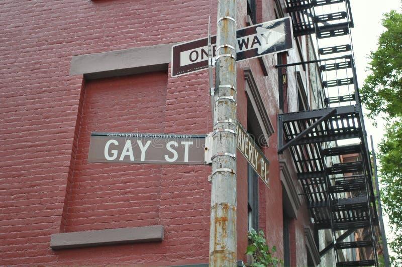 城市快乐新的街道约克 库存图片