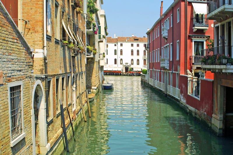 城市意大利威尼斯 免版税图库摄影