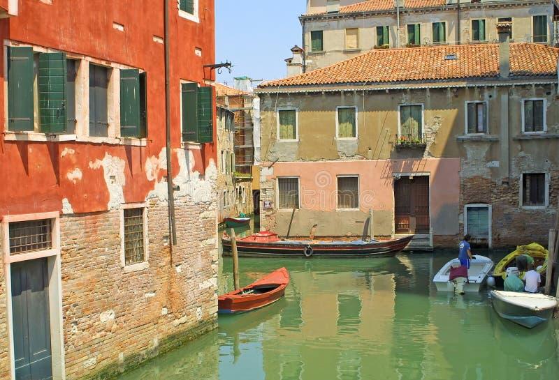 城市意大利威尼斯 免版税库存照片